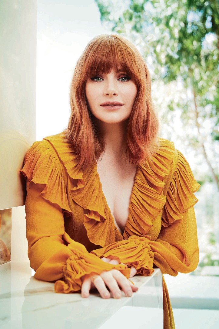 Photo of Bryce Dallas Howard 2019 by Robert Ascroft for the NY Post