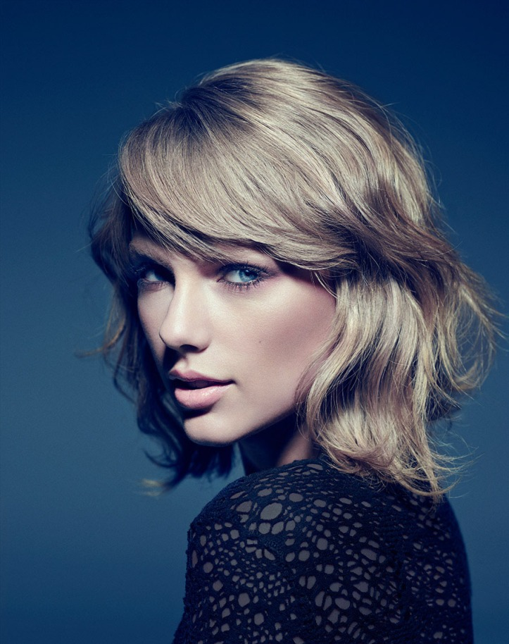 Photo of Taylor Swift 2014 by Miller Mobley for Billboard Magazine
